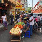 ヤンゴンのダウンタウン