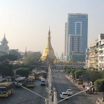 ヤンゴン 街並み